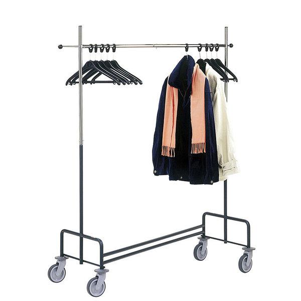 Bardzo dobra Mobilny wieszak na odzież – Vedapol – wózki sklepowe, wózki YF79
